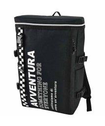 RUNNER/AVVENTURA チェッカーテープ ボックス リュックサック バックパック /501532871