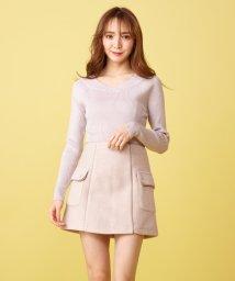 MIIA/パイピング台形スカート/501543465