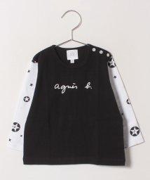 agnes b. ENFANT/S137 L TS ロゴTシャツ/501548427