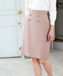 PROPORTION BODY DRESSING/★フラワービジューダブルクロススカート/501550522