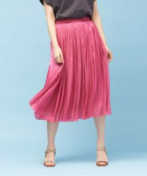 Rouge vif la cle/【定番新色】サテンギャザースカート2/501551883