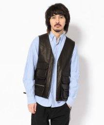 GARDEN/Toironier/トワロニエ/leather vest/レザーベスト/501552419