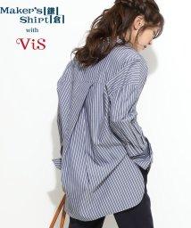 ViS/【鎌倉シャツ×ViS】ルーズシルエットシャツ/501552764