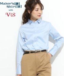 ViS/【鎌倉シャツ×ViS】【2WAY】スタンダードシャツ/501552765