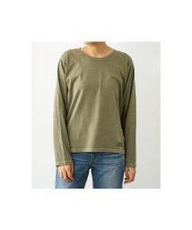 RODEO CROWNS WIDE BOWL/ピグメント Uネック ロングTシャツ/501552713