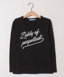 ZIDDY/天竺ラメロゴプリントTシャツ/501228424
