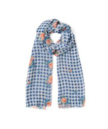 BEAMS OUTLET/【WEB限定】Glen Prince / フラワー チェック ストール/501550818