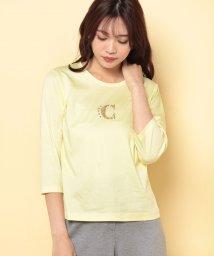 CARA O CRUZ/スパングルロゴTシャツ/501551830