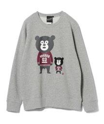BEAMS OUTLET/【SPECIAL PRICE】BEAMS T / Ivy Bears Crewneck Sweatshirt/501552976