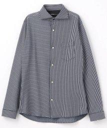 HIDEAWAYS NICOLE/ホリゾンタルカラーシャツ/501515121