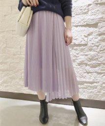 ROPE'/フロントアシメプリーツスカート/501528360