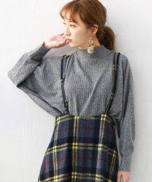 REAL CUBE/M.M.O 起毛リブカットソー/501553312