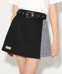 PINK-latte/★ニコラ掲載★ベルト付台形ZIP スカート/501554783