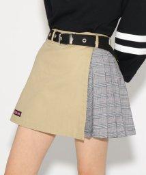 PINK-latte/ベルト付台形ZIP スカート/501554783