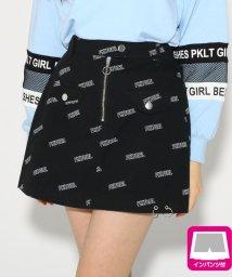 PINK-latte/リング付 スカート/501554784