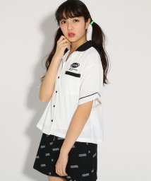 PINK-latte/ボウリングシャツ/501554785