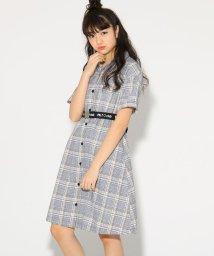 PINK-latte/★ニコラ掲載★開襟シャツ ワンピース/501554788