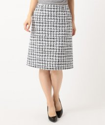 NIJYUSANKU/【セットアップ対応】CLALENSON チェックツイード スカート/501555469