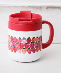Afternoon Tea LIVING/イチゴステンレスマグカップ/501543151