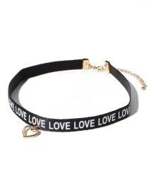 Lovetoxic/ロゴテープチョーカー/501549044