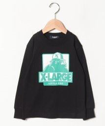 XLARGE KIDS/キャップOGナガソデTシャツ/501549053