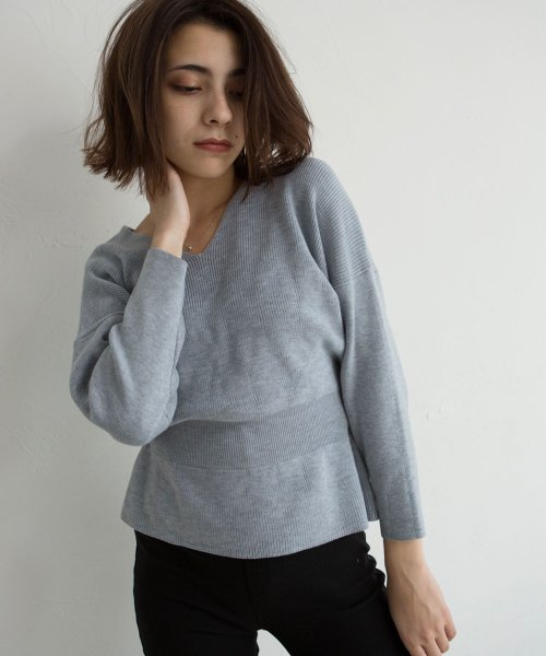 marjour(マージュール)/WINTER PASTEL KNIT/750119