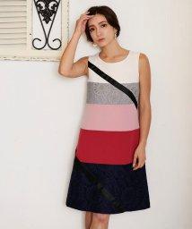 Millon Carats/配色リボンラッピングワンピース[DRESS/ドレス]/501554301