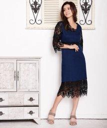 Millon Carats/デニムレースワンピース[DRESS/ドレス]/501554303