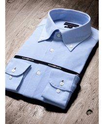 TAKA-Q/アイスコットンスリムフィットニットボタンダウンビジネスドレスシャツ/501554452