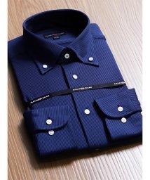 TAKA-Q/アイスコットンレギュラーフィットニットボタンダウンビジネスドレスシャツ/501554453