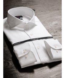 TAKA-Q/形態安定80双スリムフィットカッタウェイ長袖ビジネスドレスシャツ/501554469