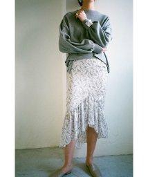 CLANE/PETIT FLOWER FRILL SKIRT/501555399