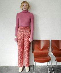 CLANE/PETIT FLOWER WIDE PANTS/501555400