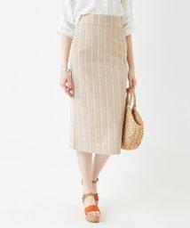 titivate/ハイウエストバックスリットタイトスカート/501556001