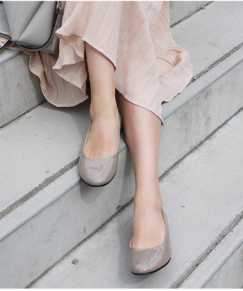 ALETTA(ALETTA)/やっと出会えた究極のプレーンローヒールパンプス【3.5cmヒール/ラウンドトゥ】 外反母趾ぎみ甲高幅広対応 立仕事 靴  痛くないパンプス 小さい 大きいサイズ/274002731b
