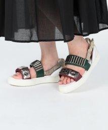 Ray BEAMS/TOGA PULLA × Ray BEAMS / 別注 Metal Sneaker Sandal/501557797