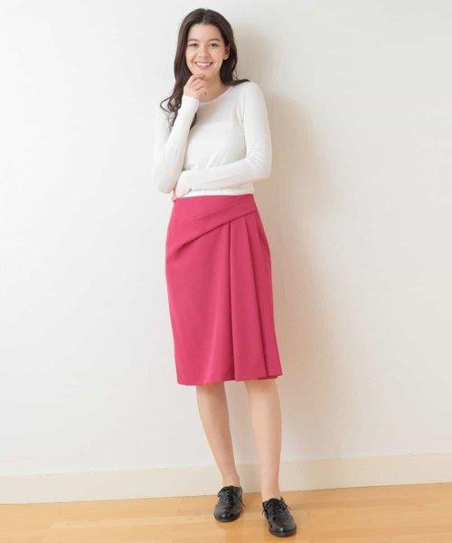 Tara Jarmon(タラ ジャーモン)/ドレープスカート IMPORTED/VZHCG08360