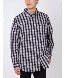 COTORICA./チェックワイドレギュラーカラーシャツ/501530610