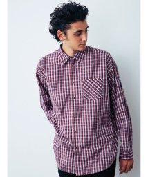 COTORICA./チェックBIGシャツ/501530611