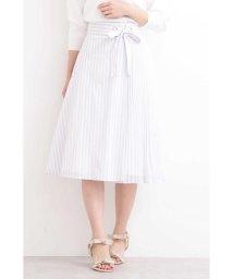 PROPORTION BODY DRESSING/◆フレアーストライプ部分プリーツスカート/501546478