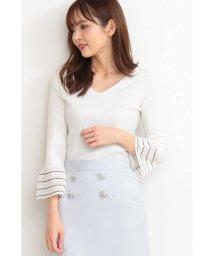 PROPORTION BODY DRESSING/シアーアイレットスリーブニット/501555565