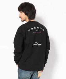Schott/EMBROIDERED T-SHIRT STAR SCHOTT BROS/刺繍Tシャツ スターショット ブロス/501557828