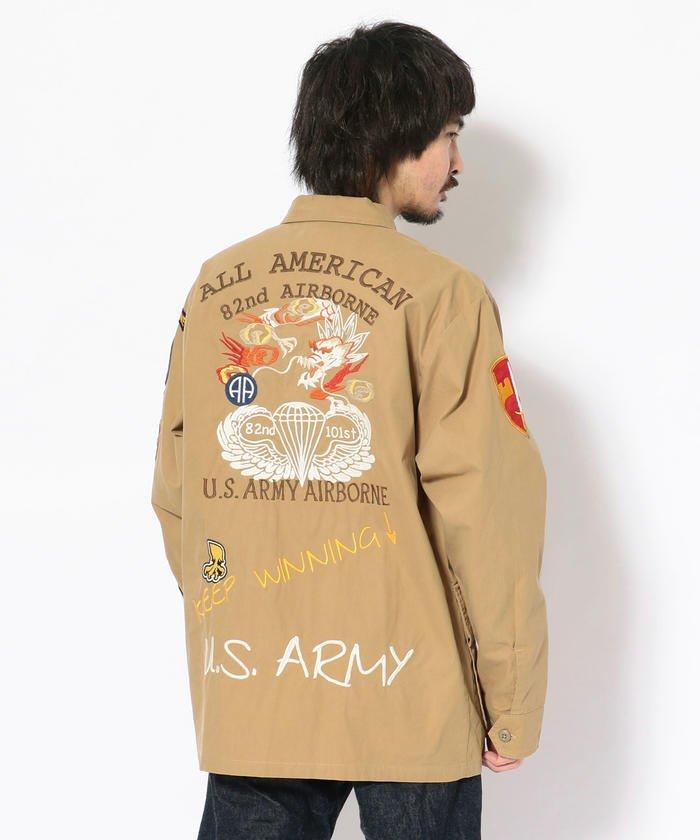 【Lightning 6月号掲載】U.S.アーミー ジャングル ファティーグシャツ/U.S.ARMY JUNGLE FATIGUE SHIRT