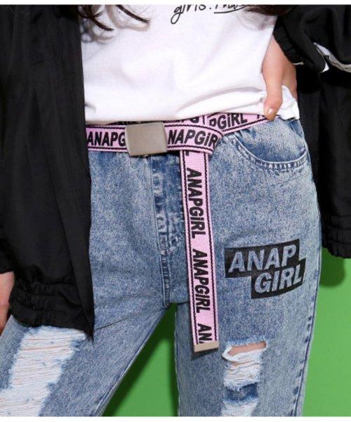 ANAP GiRL(アナップガール)/ロゴラインガチャベルト/2009200003