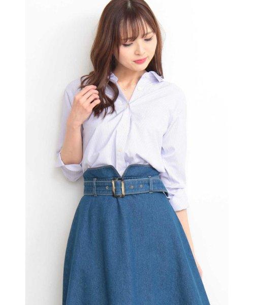 PROPORTION BODY DRESSING(プロポーション ボディドレッシング)/ストライプシャツ/1219110900