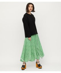 SLY/WILLOW DOTS FLARE LONG SK/501558130