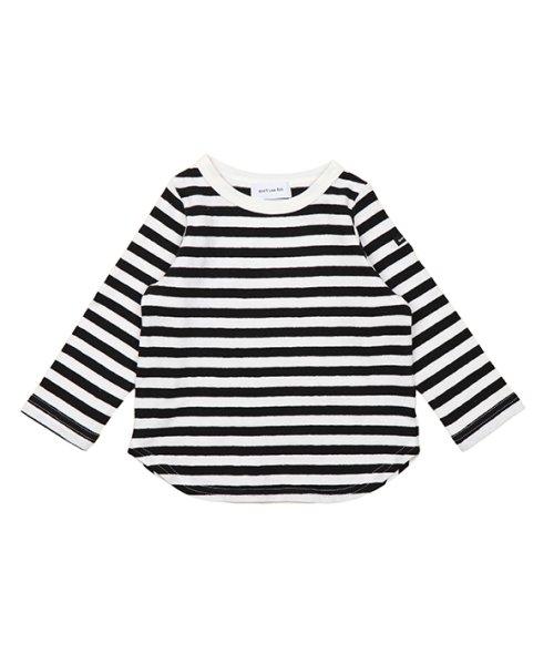 quoti use fith(クオティ ユース フィス)/16/- ボーダーテンジク 長袖 Tシャツ/9192452