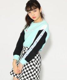 PINK-latte/【Champion】袖テープ トップス/501558532