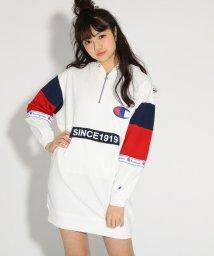 PINK-latte/★ニコラ掲載★【Champion】裏毛 ワンピース/501558534