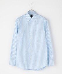 SHIPS MEN/SD: オルタネートストライプ イタリアンボタンダウンシャツ(スカイブルー)/501558940